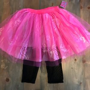 Capezio BETSEY JOHNSON Tutu Skirt Pink Dance